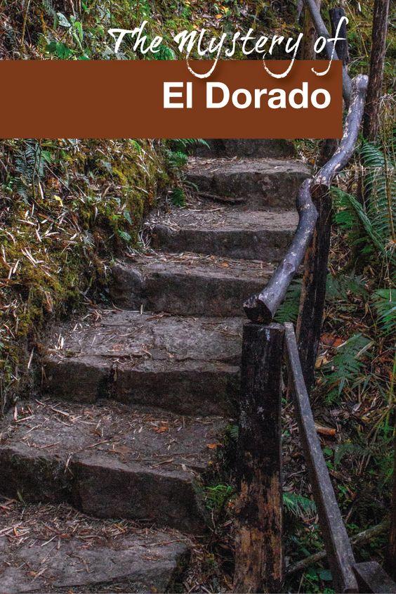 The Mystery of El Dorado - Pinterest