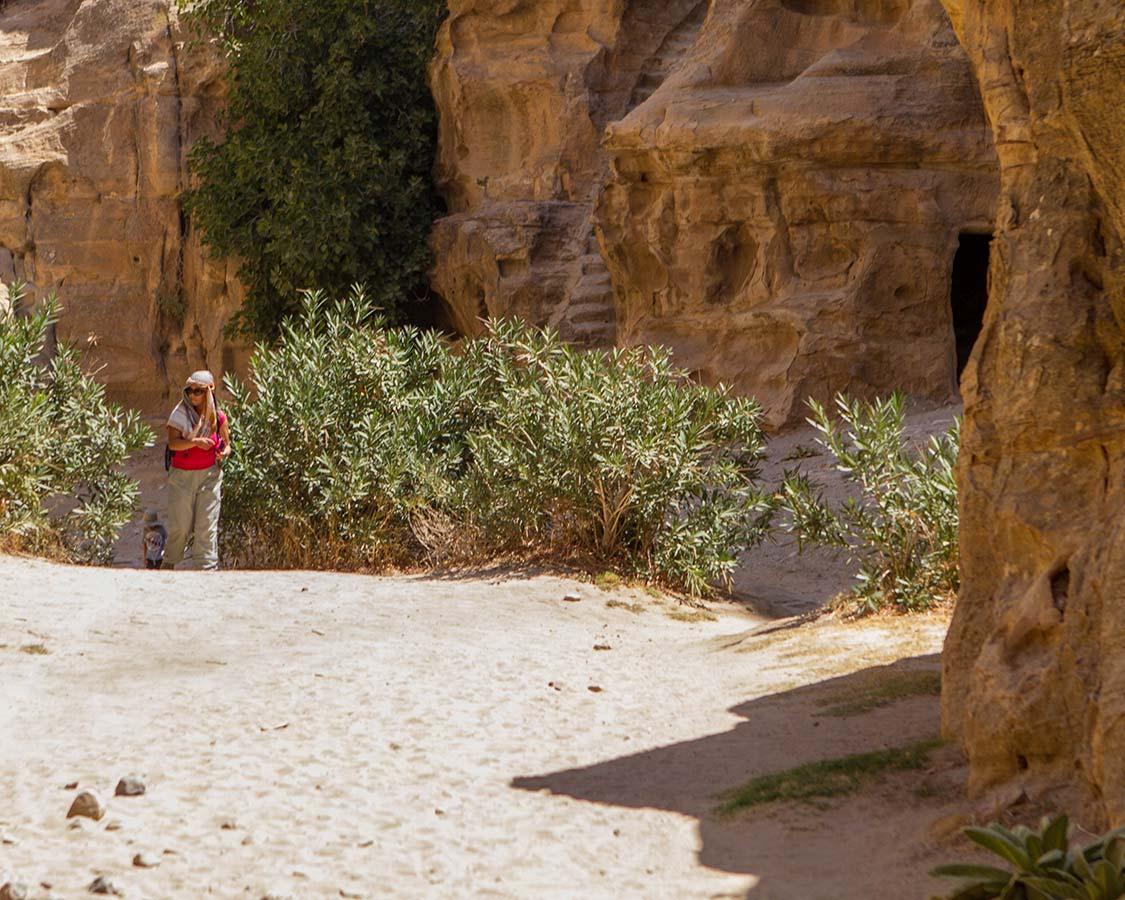 Family Travel Expert Christina Wagar explores Little Petra Jordan Holiday