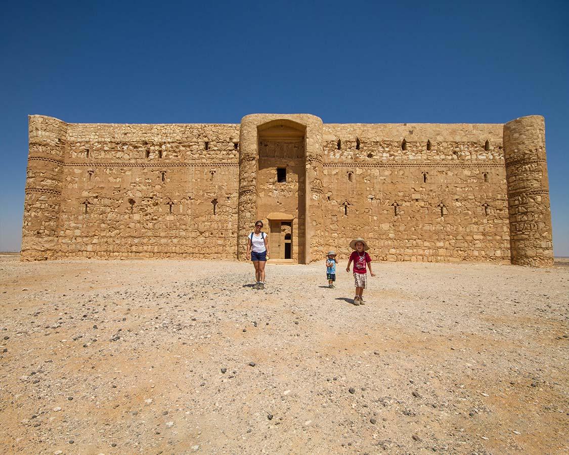 Desert Castles of Jordan along the Kings Highway
