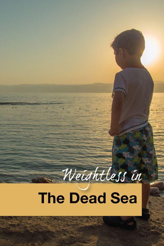 Weightless in The Dead Sea - Pinterest