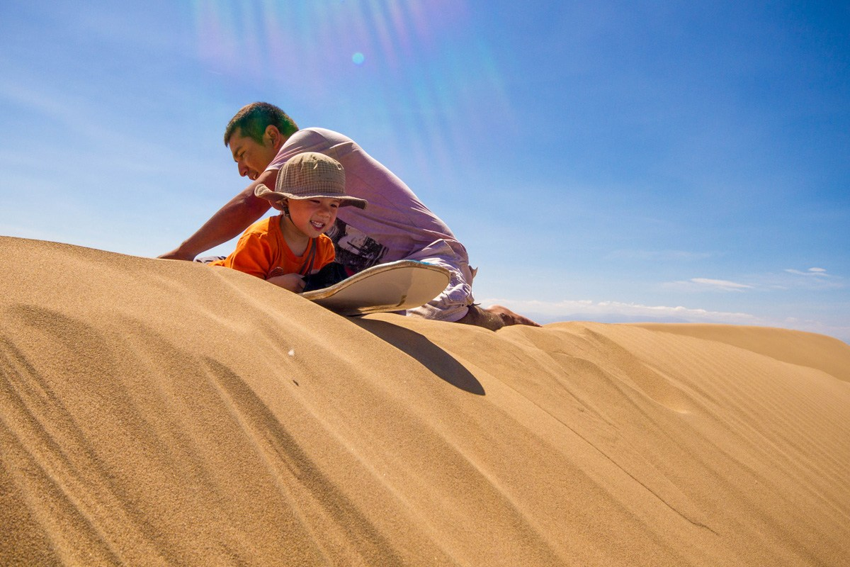 Why should you travel with kids - build confidence