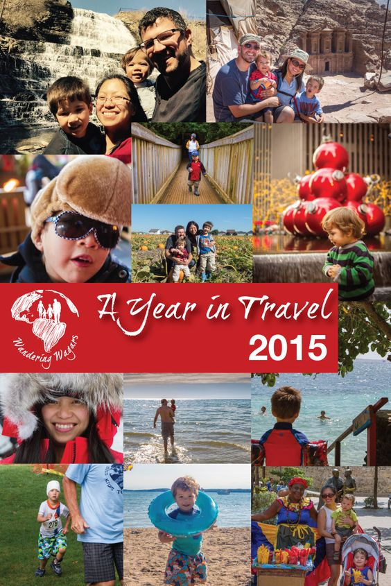 A Year in Travel 2015 - Pinterest