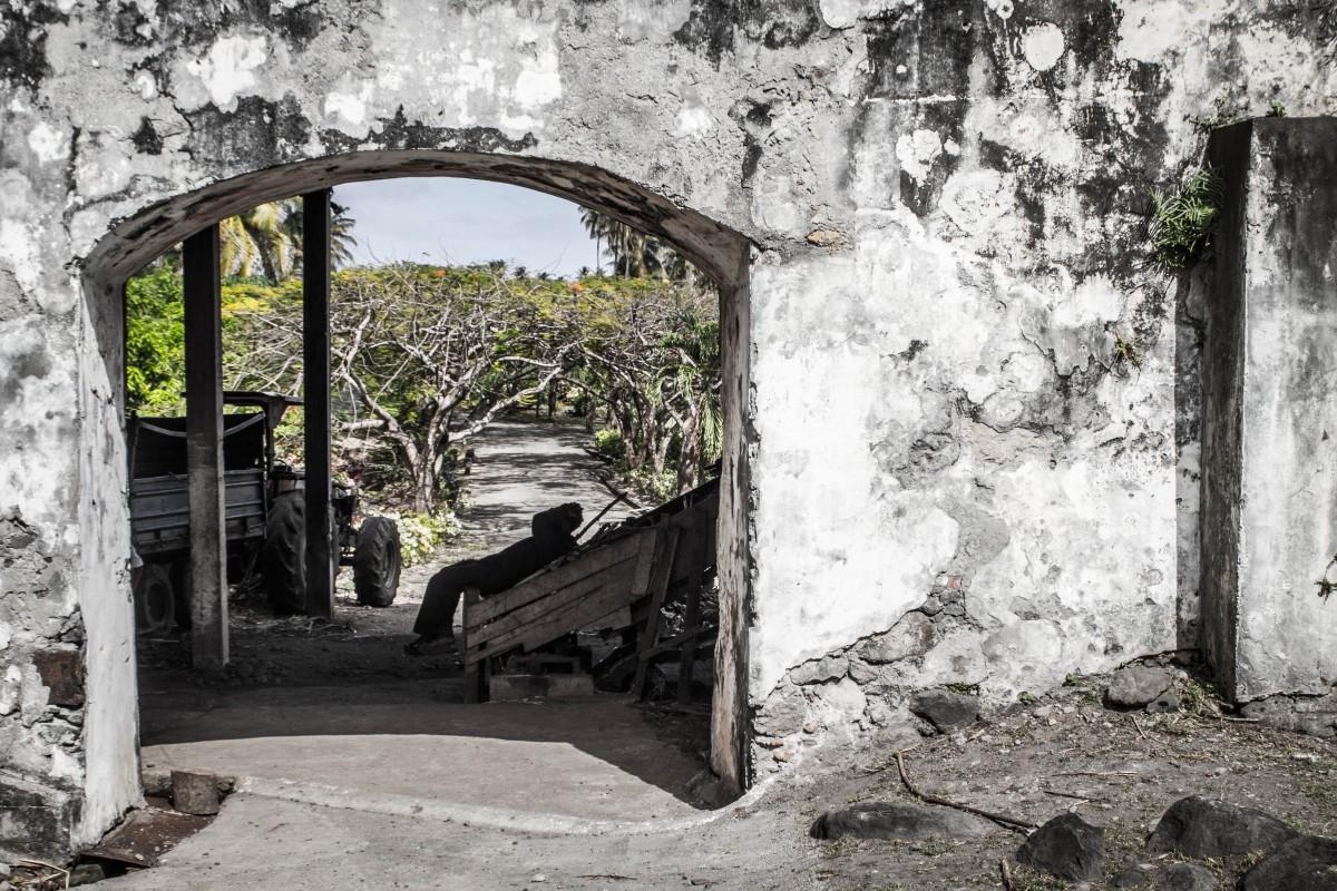 Grenada Tour - Nap at the Distillery