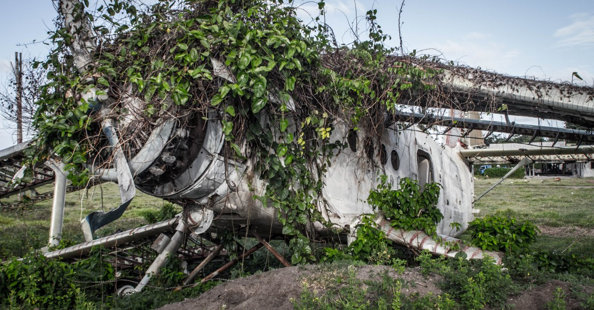 Grenada Tour - Reclaimed by Nature