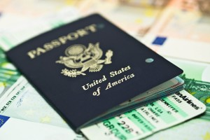 Don't forget to have all your travel documents ready ahead of time.