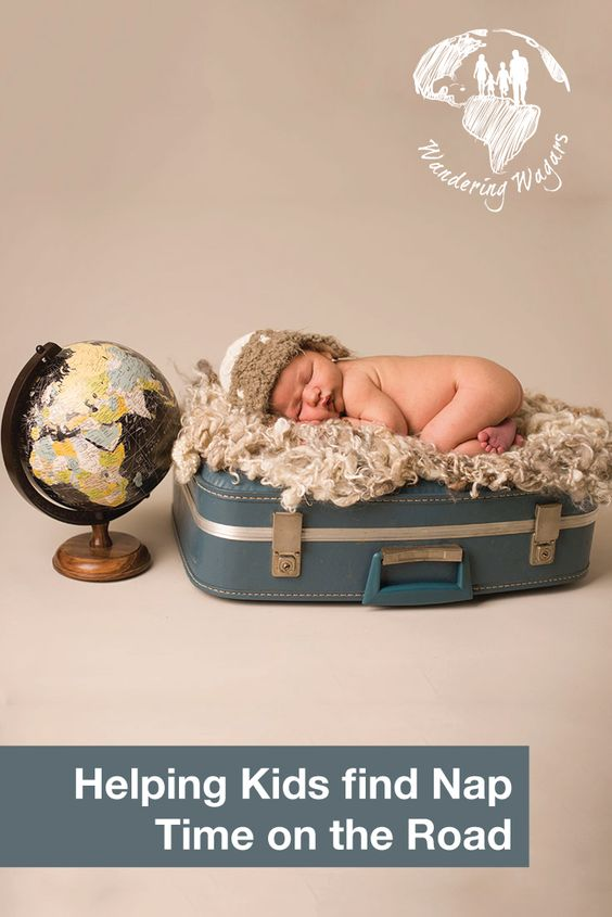 Helping kids find naptime on the road - Pinterest