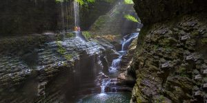 Hiking Watkins Glen State Park