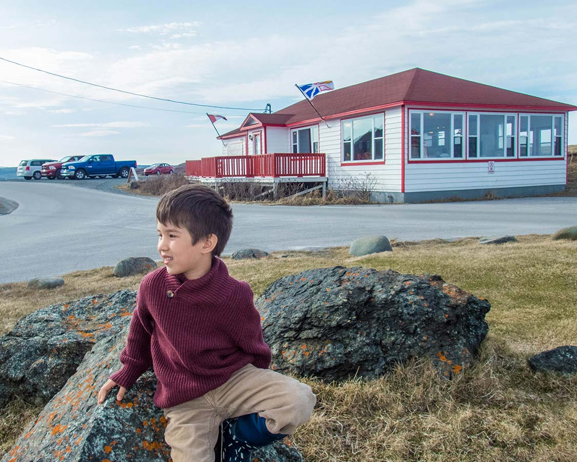 Lightkeepers Restaurant in St Anthony Newfoundland