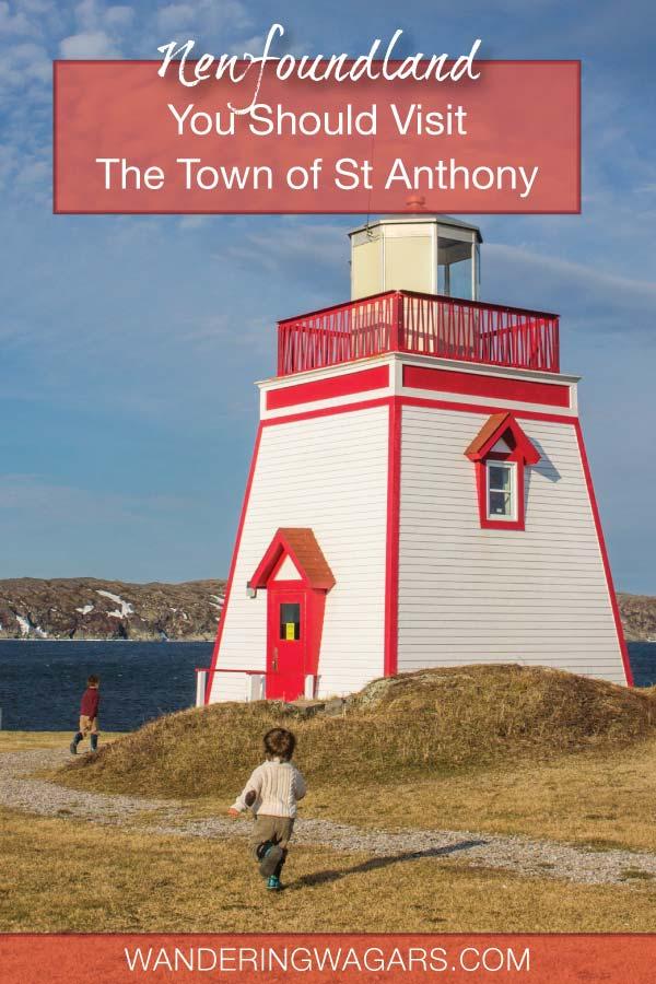 St Anthony Newfoundland Pinterest