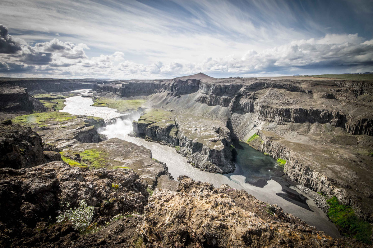 Dettifoss, the largest waterfall in Iceland - An Epic 14 Day Iceland Itinerary