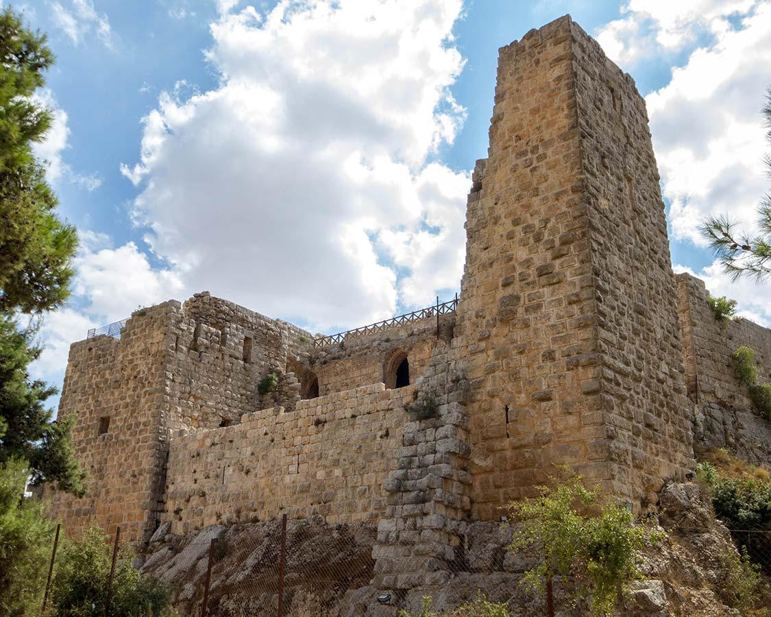 Aljun Castle in Jordan