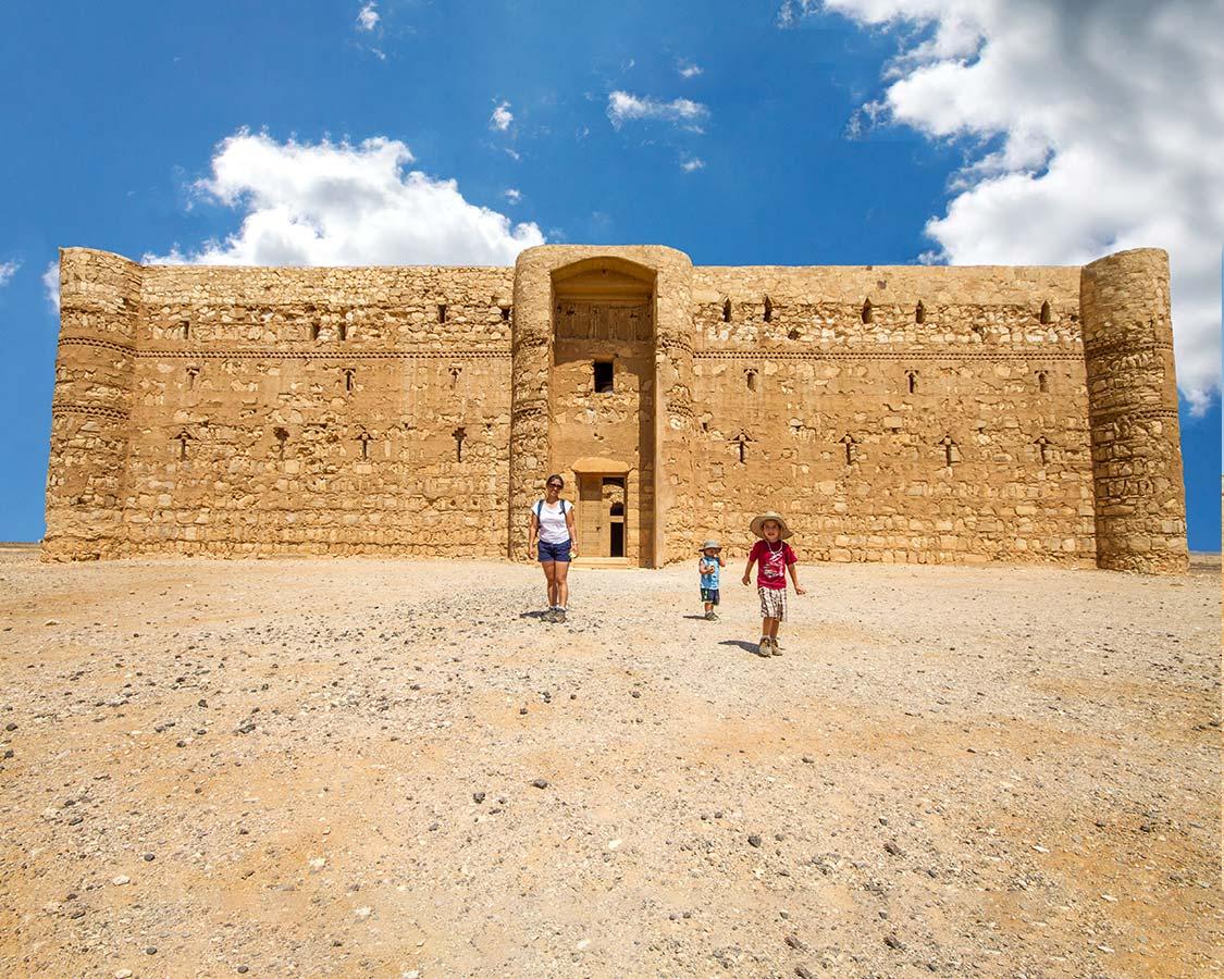 Castles in Jordan Qasr Kharana