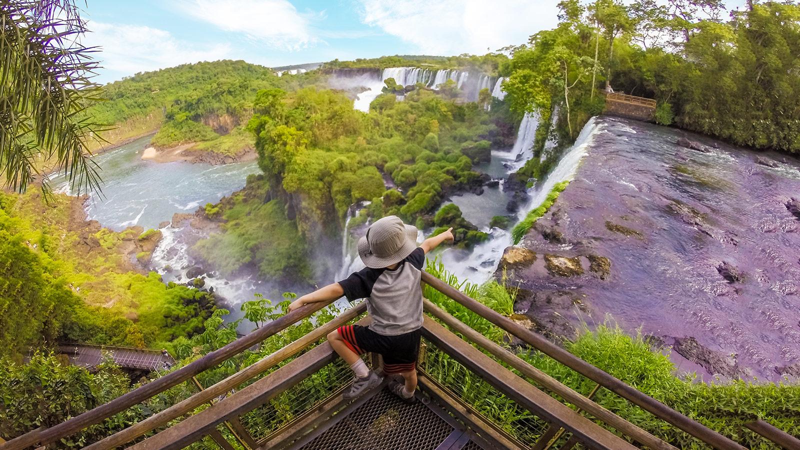 Visiting Iguazu Falls Argentina With Kids Wandering Wagars