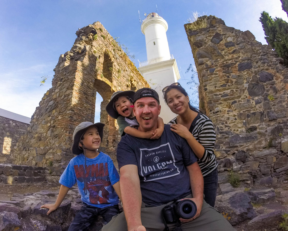 A Day Trip To Colonia Del Sacramento With Kids Wandering