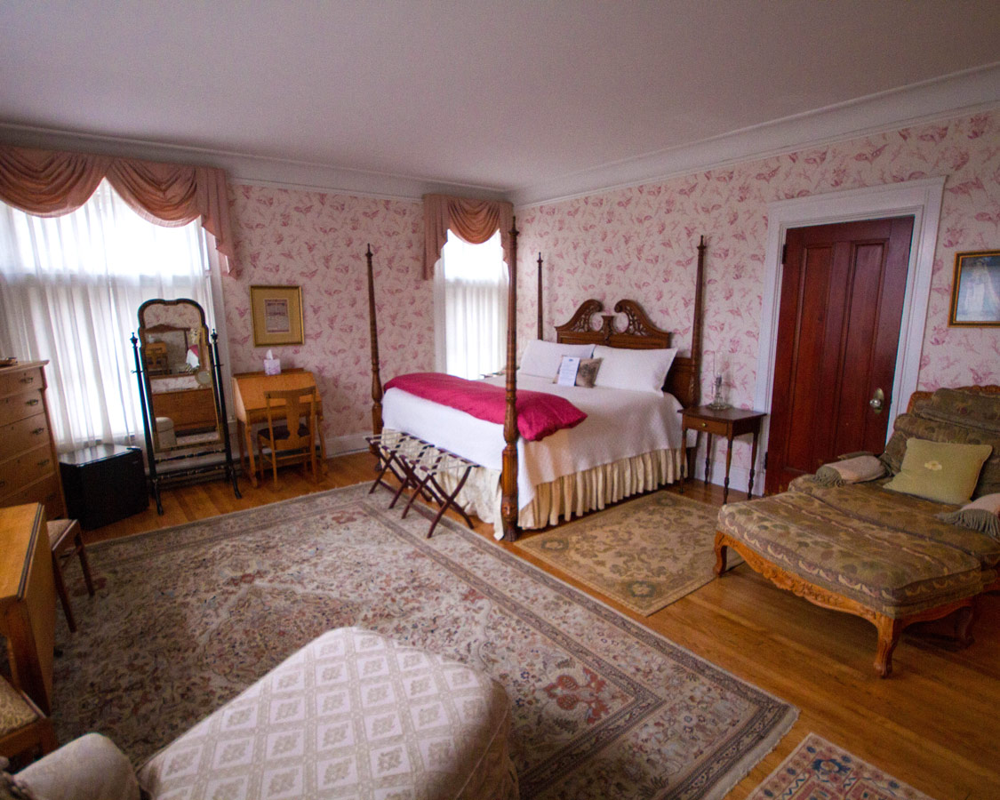 One of the 11 rooms at the Wilburton Inn in Manchester, Vermont.