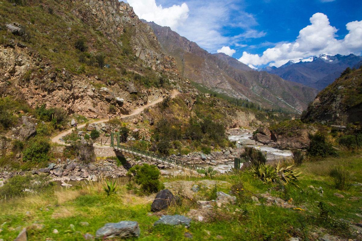 Family Travel to Machu Picchu - Start of the 4-day Inca Trail hike to Machu Picchu.