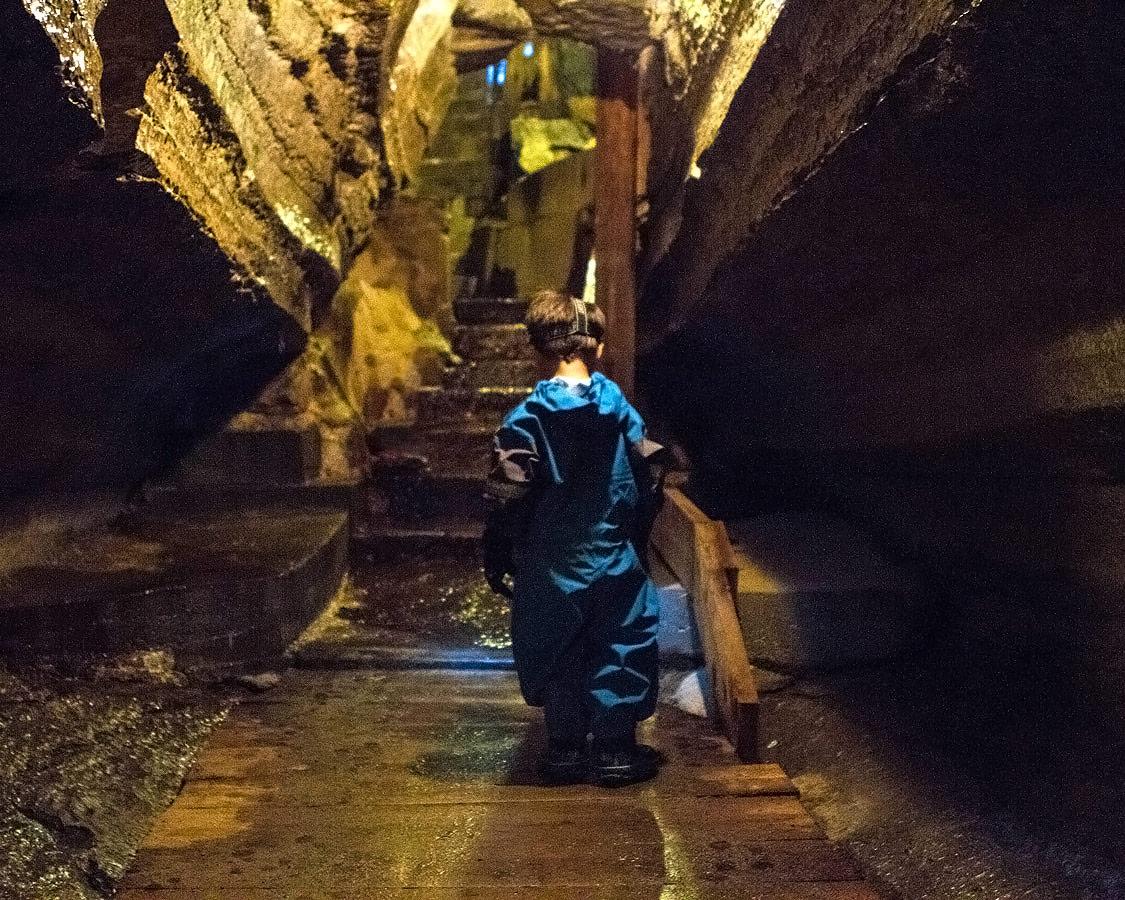 Exploring Bonnechere Caves in Eganville Ontario