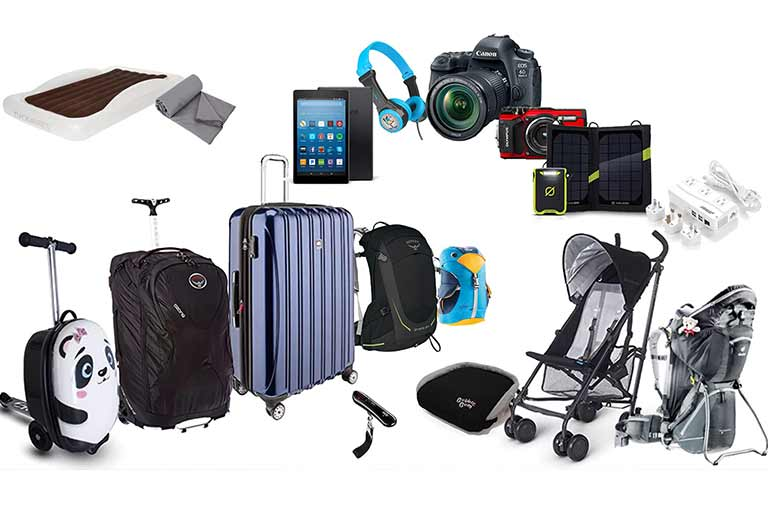 Best products for family vacations