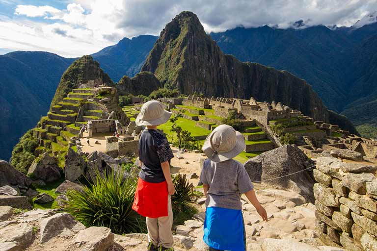 How to visit Machu Picchu with kids