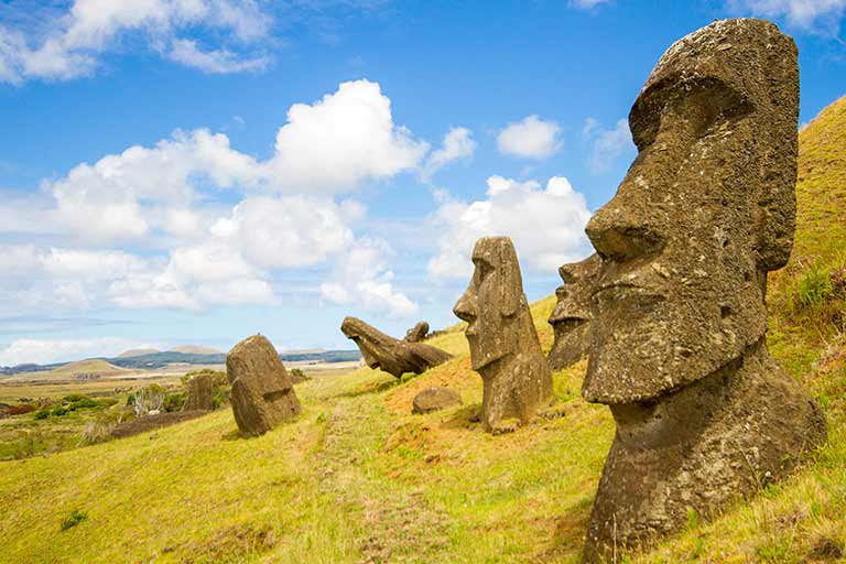 Easter Island Chile with kids