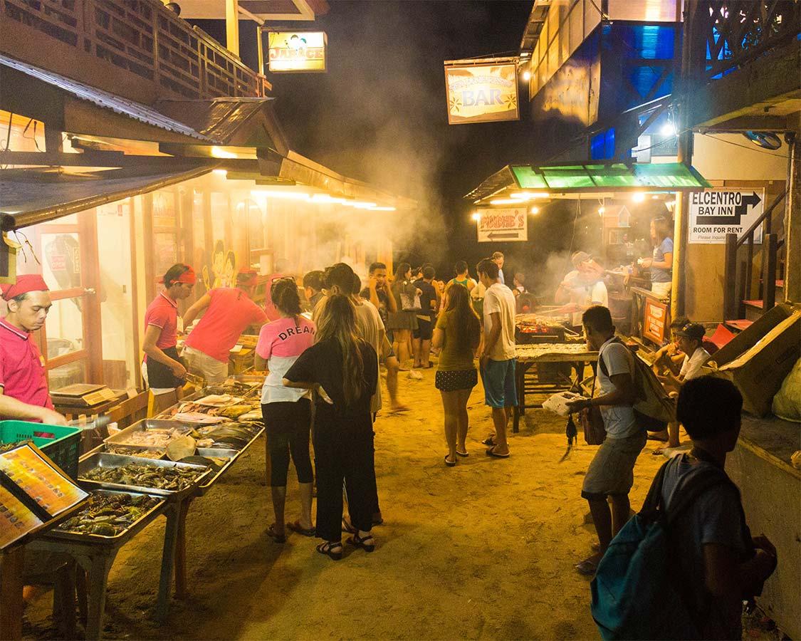 El Nido Fish Market and Jarace Grill Palawan Philippines