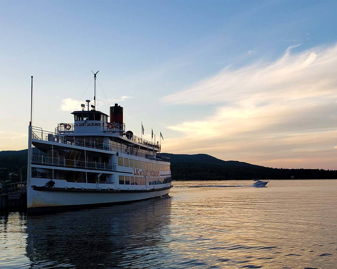 Lake George Paddle boat Tour Adirondack Attractions