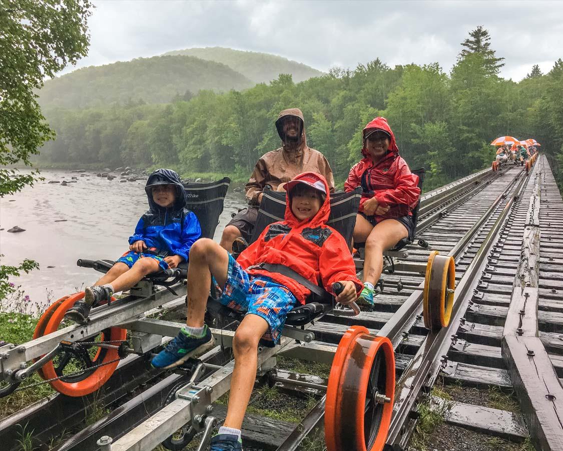 Things To Do in the Adirondacks - Revolutions Rail North Creek