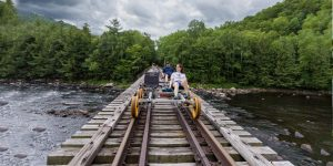 Searching for the best things to do in the Adirondacks? Discover adventurous rail journeys and the most scenic views for your Adirondack vacation