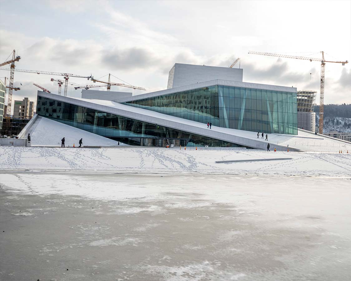24 hours in Oslo Norway Oslo Opera House