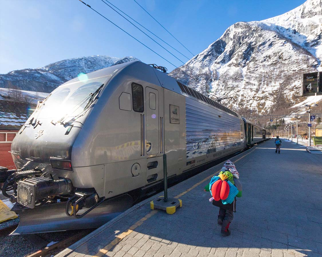 Norway In a Nutshell Boarding the Flam Railway