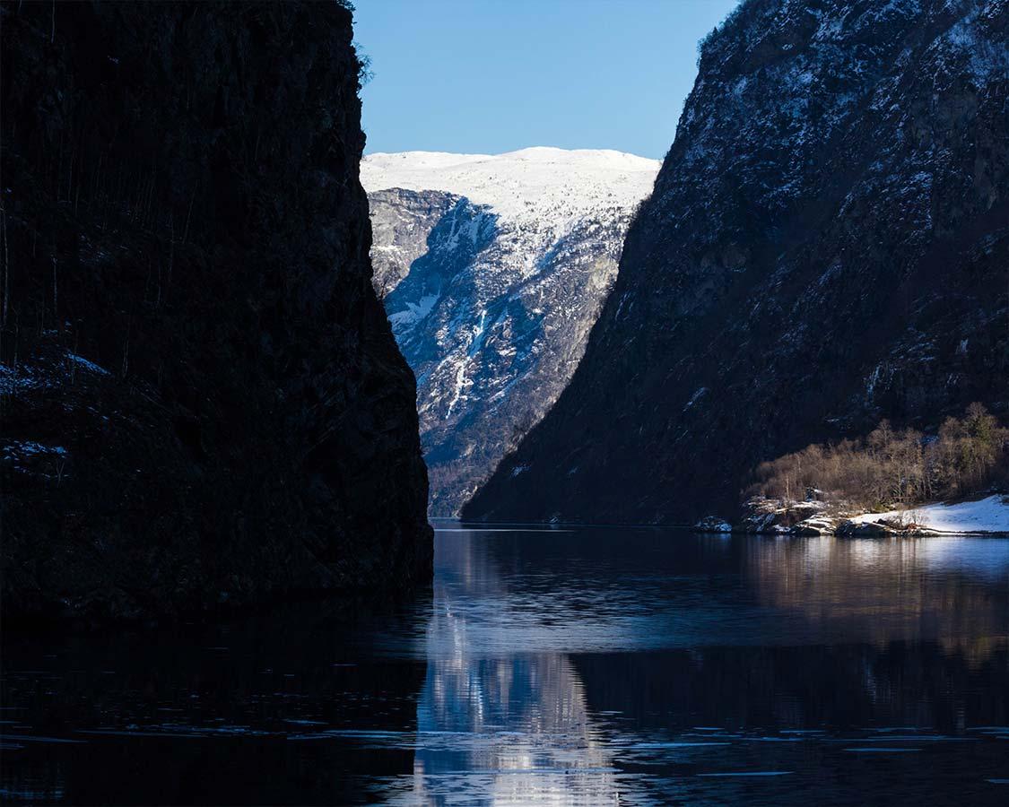 Norway In a Nutshell Entering Aurlandsfjord