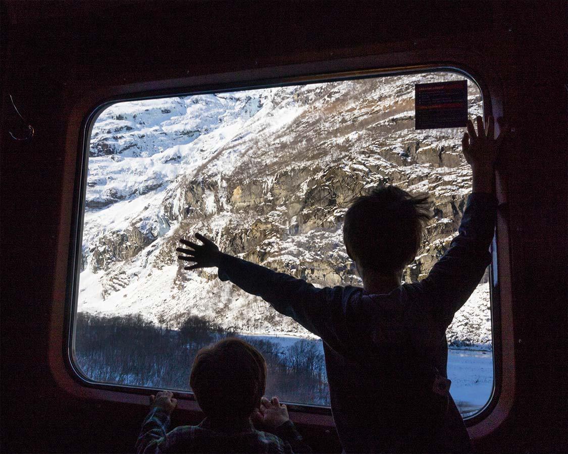 Norway In Nutshell Views From Window Towards Oslo