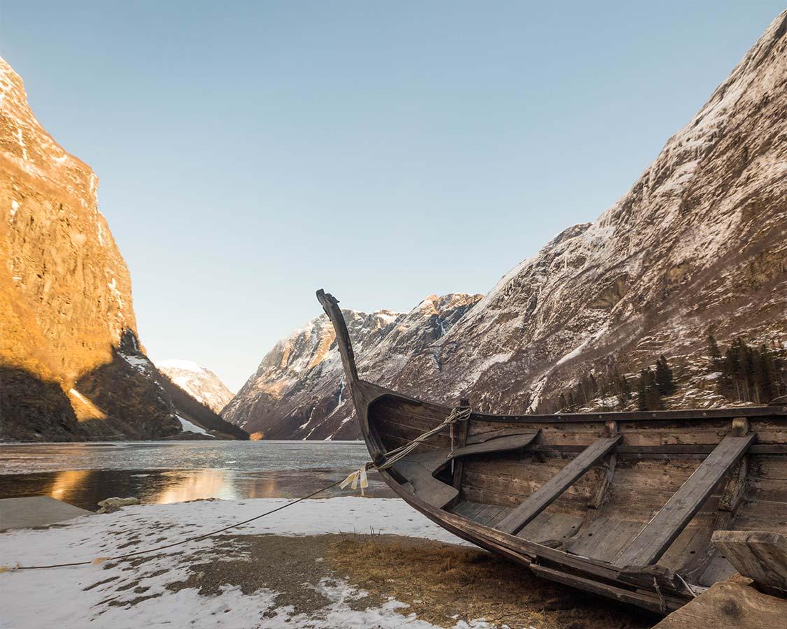 Nroway In a Nutshell Gudvangen Viking Boat