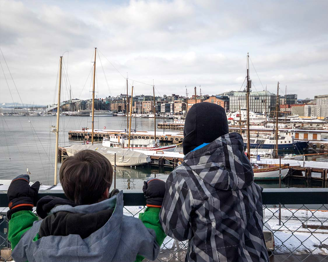 Oslo with kids Waterfront