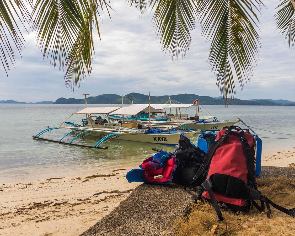 palawan things to do balabac island camping