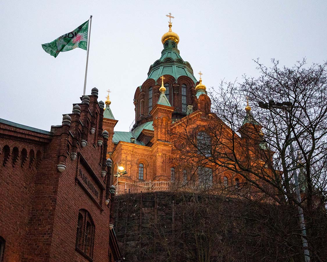 Best Helsinki Attractions Uspenski Cathedral