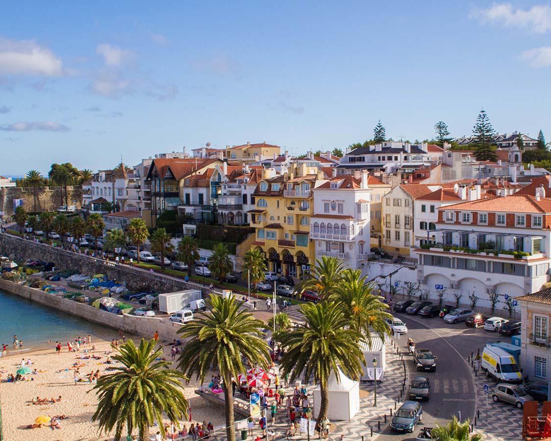 Best Day trips from Lisbon Portugal Cascais Beach