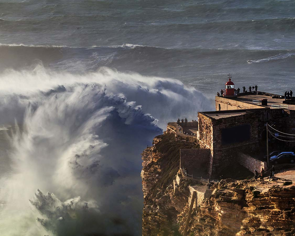 Day trips from Lisbon Nazare Beach