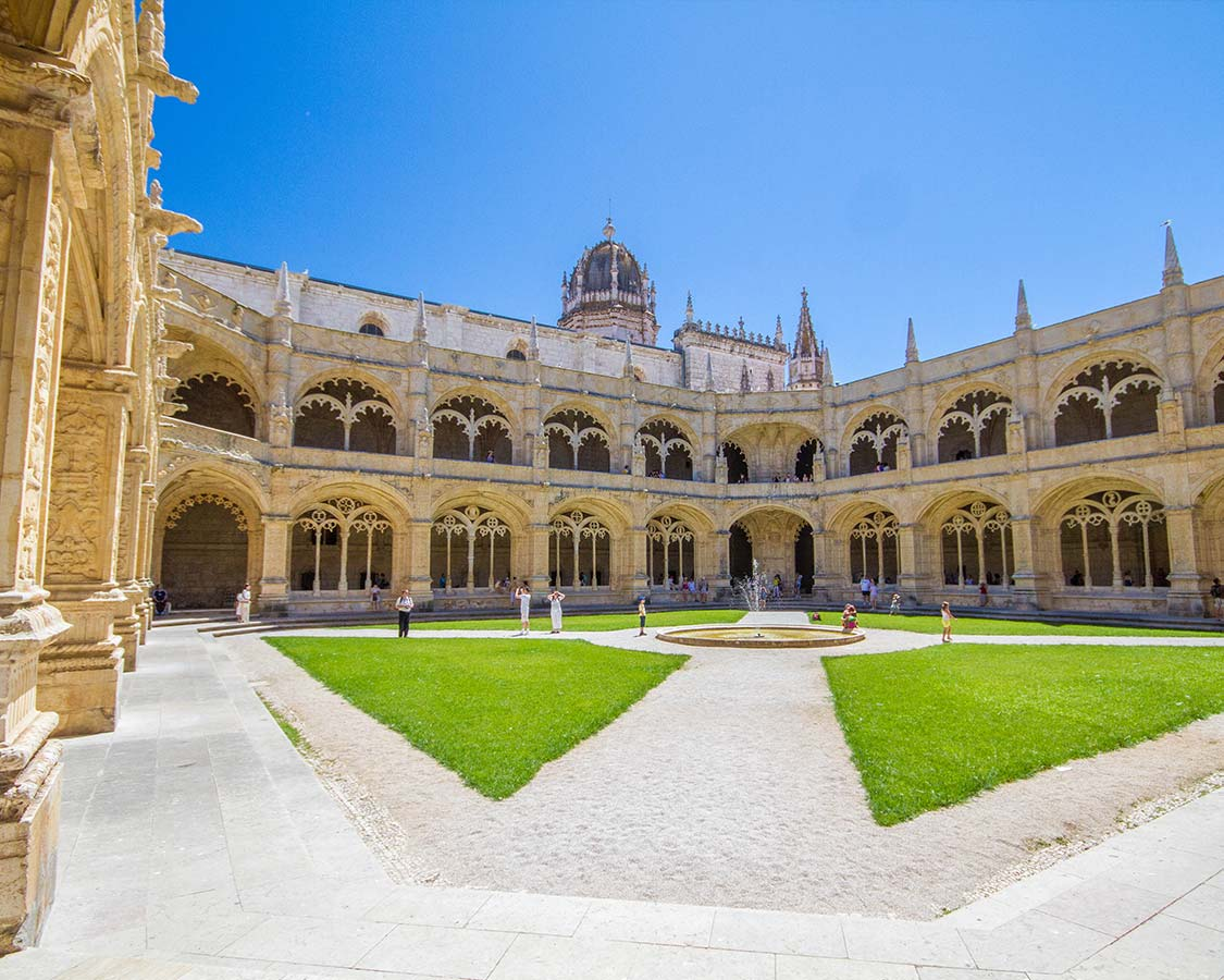 Things To Do In Lisbon with Children Monastery Of St Jerome