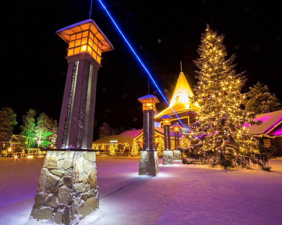 things to do in Rovaniemi in winter Santa Claus Village