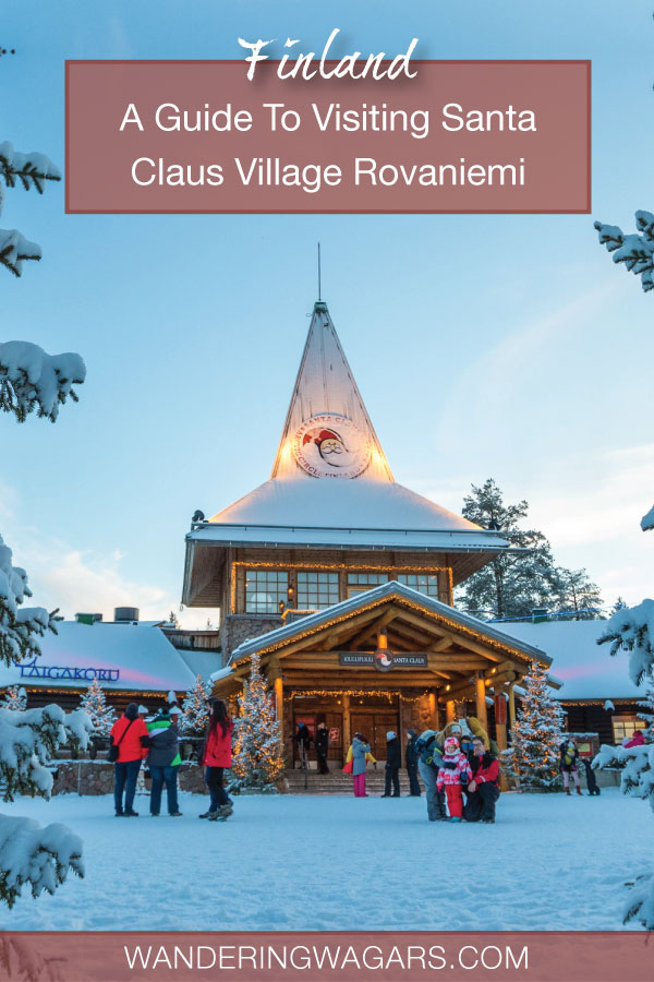 Guide To Santa Claus Village Finland