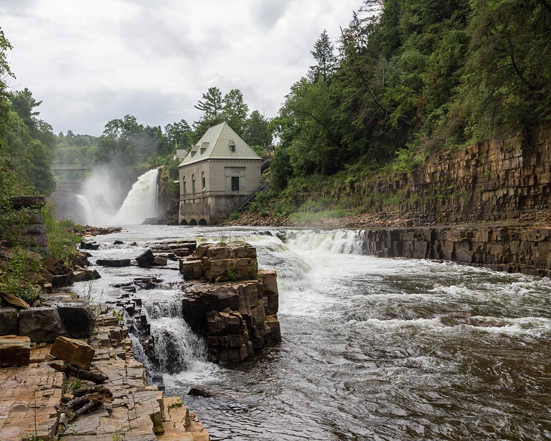 Things to do near Titus Mountain NY Ausable Chasm