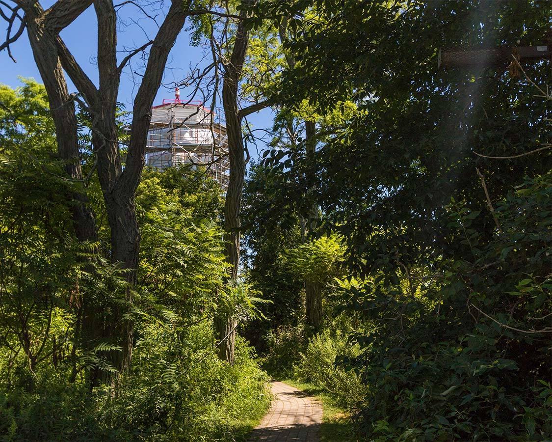 Presqu Ile Lighthouse Trail