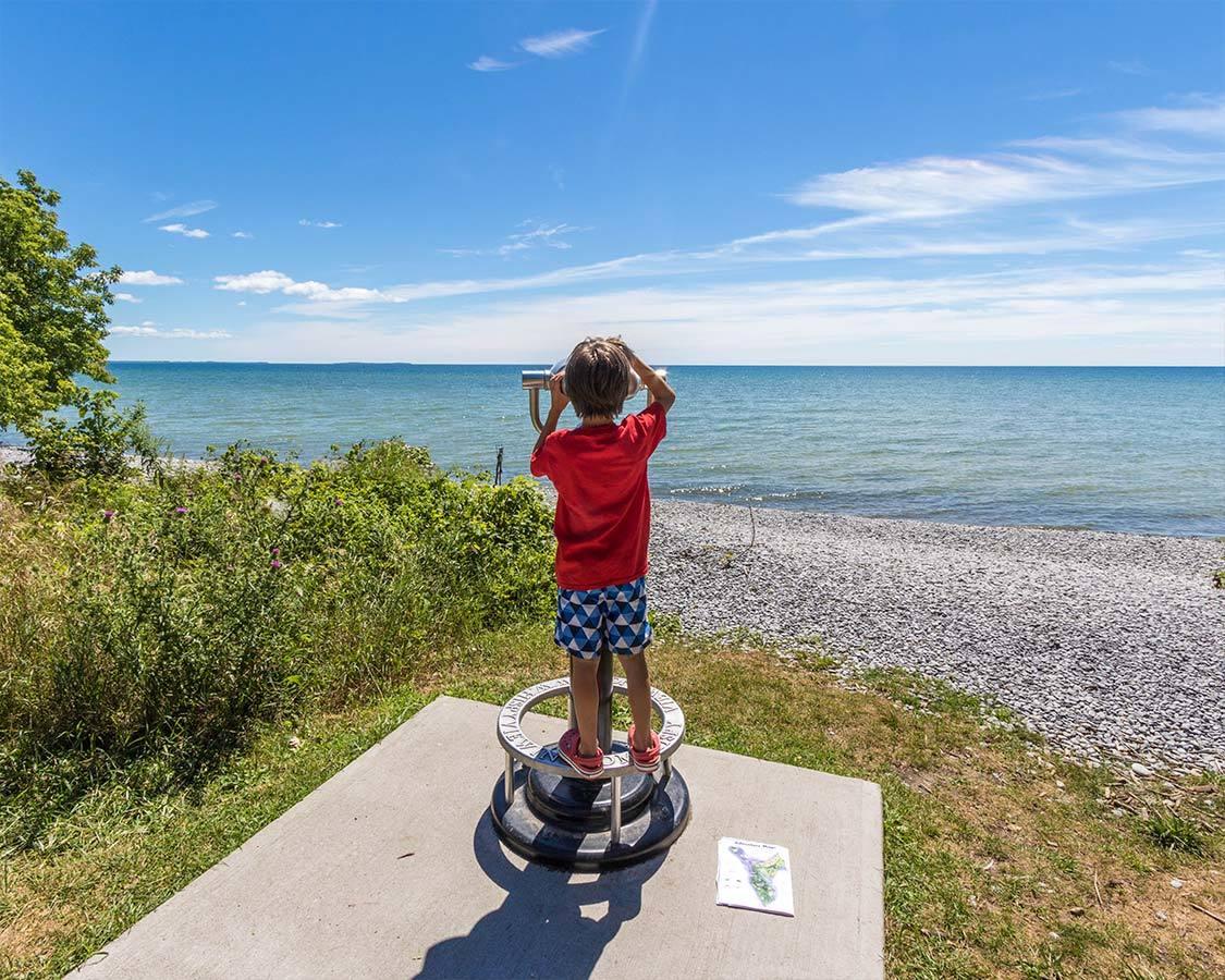 Presqu'ile Provincial Park Lake Ontario Lookout