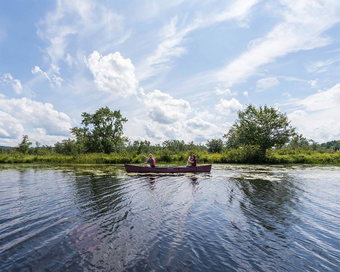 Things to do in Tupper Lake NY Canoe at the Wild Center