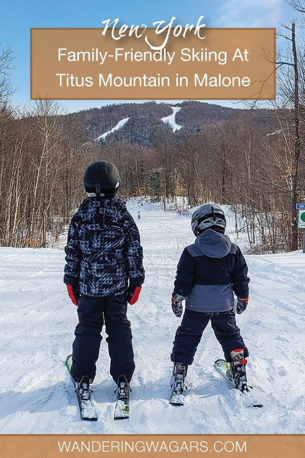 Adirondack Ski Destination Titus Mountain New York