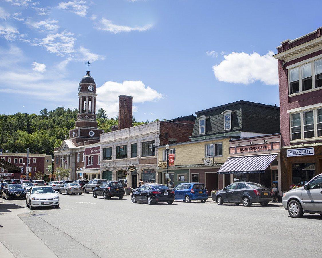 downtown Saranac Lake NY Things to do