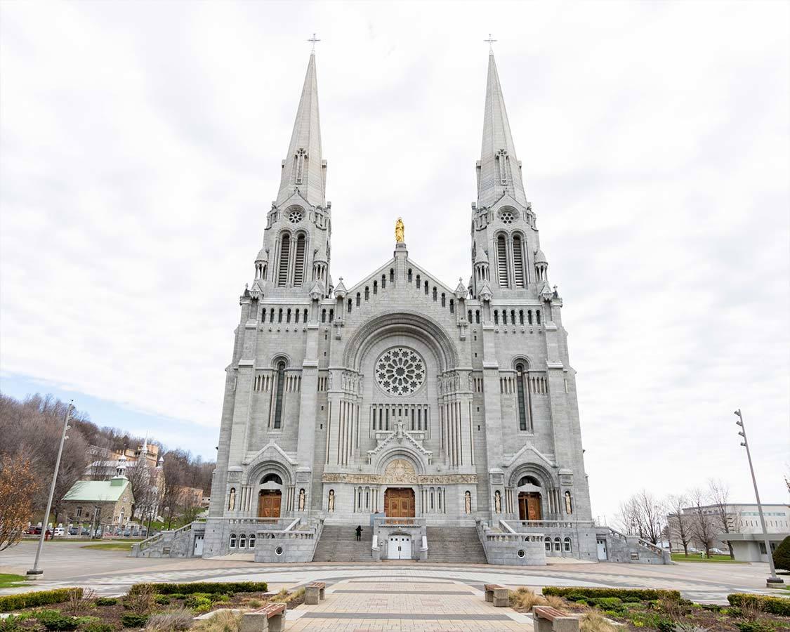 Saint Anne de Beaupre Shrine near Quebec City