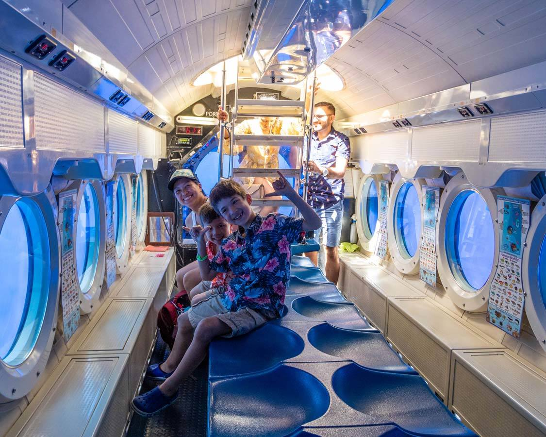 atlantis adventures maui inside a submarine