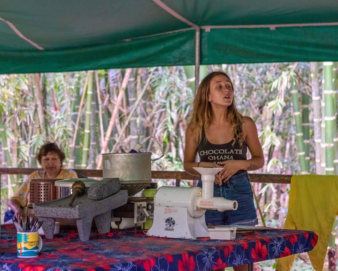 Kauai chocolate farm